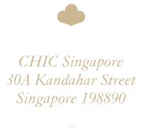 CHIC Singapore : 30A Kandahar Street, Singapore 198890