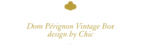 Dom Pérignon Vintage Box design by Chic