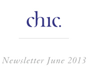 Chic - News letter June 2013