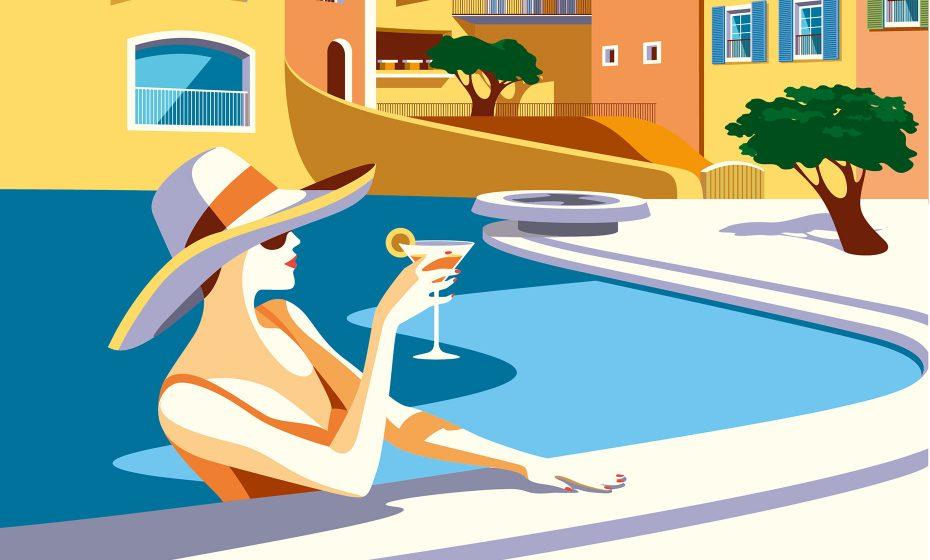 Ad campaign groupe floirat le byblos saint tropez chic for Design hotel 1860 rendsburg