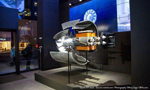 Dyson NY store – Source racked.com : Photography Tiffany Sage : BFA.com